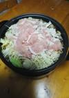 ポカポカ生姜鍋♪