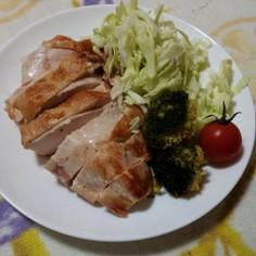 味付け二つ漬け込むだけ☆鶏胸肉の旨味焼き