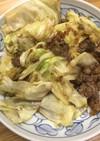 牛肉とキャベツの焼肉のたれ炒め