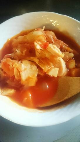 野菜たっぷり!食べるスープ