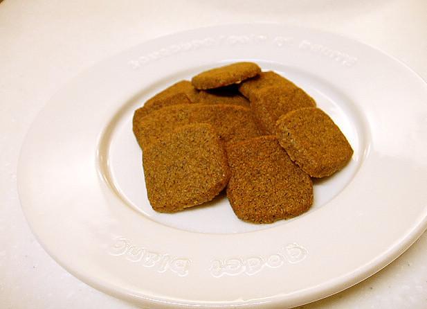■きなこ大量消費に■塩きなこクッキー■