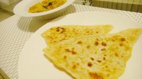 アローパラタ(じゃがいも入り薄焼きパン)