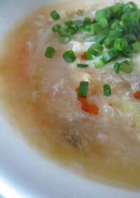 たっぷり白菜の酸辣湯(サンラータン)