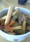 ふきと細竹の煮物