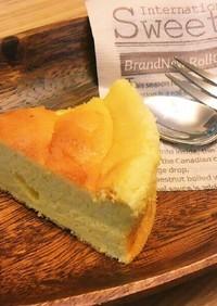 チーズスフレ風ヨーグルトケーキ