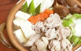 鶏肉の簡単水炊き