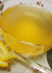◆甘すぎない♪柚子と生姜のホットドリンク