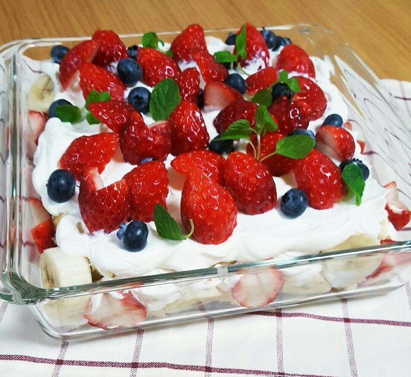 X'masにも✨簡単スコップケーキ♡