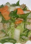 お弁当に 白菜と豚バラの八宝菜風