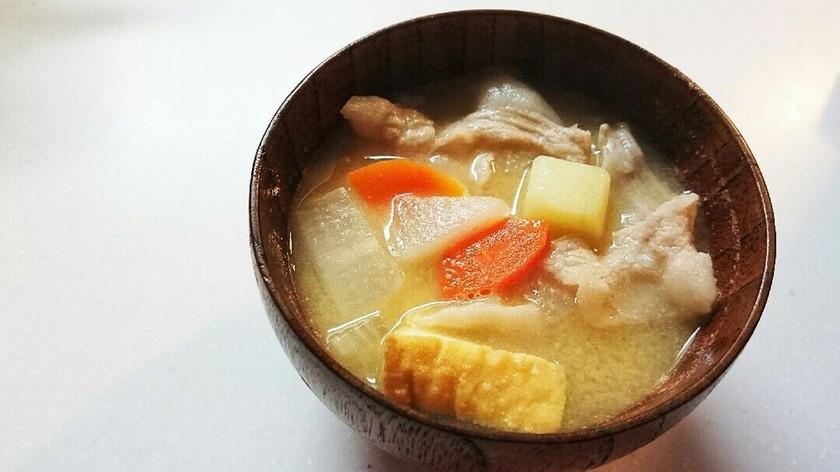 授乳食☆根菜の豚汁