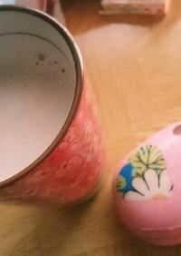 至福の麦茶ラテ♡