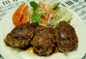 牛切り落とし肉で、かさまし節約ステーキ‼