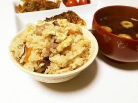 ☆簡単☆絶品 かやくご飯(炊き込みご飯)