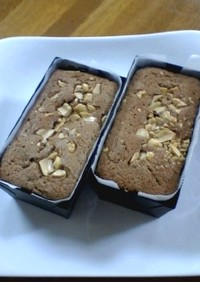★ピーナッツバターのパウンドケーキ★