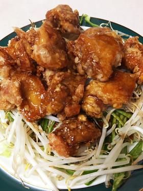 鶏のざんぎ(唐揚げ) 甘酢あんかけ
