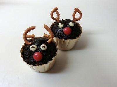 子供と簡単☆トナカイのクリスマスお菓子