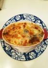 レンジとオーブンで生米から簡単リゾット