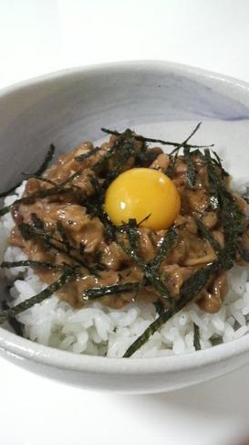 簡単おいしい★ツナ納豆丼
