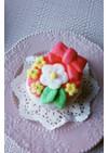 可愛くて美味しい♡お花のカップケーキ♡