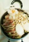 寒い冬に最適ベイマックスの豚バラ白菜鍋
