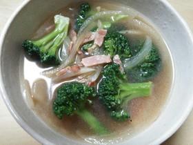 ブロッコリーの洋風スープ