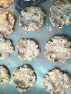 砂糖、小麦粉なしのおからクッキー