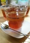 簡単☆寒天で紅茶ゼリー(ハニーレモン)
