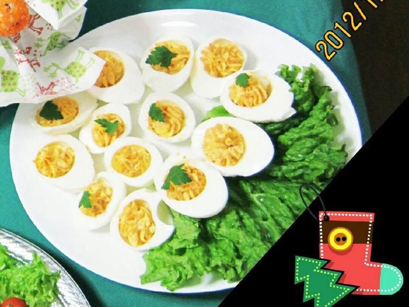 クリスマス⭐簡単オードブル⭐卵