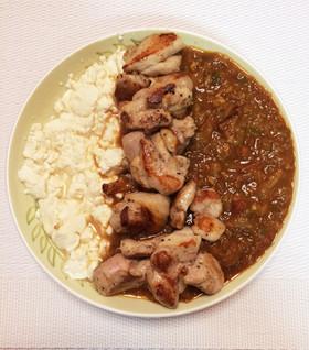 カレー豆腐★糖質制限★ご飯の代わりに豆腐