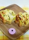 さつま芋クリームロールパン