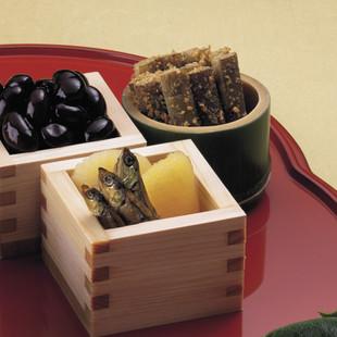 黒豆(写真左)