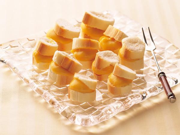 麩のプチシュークリーム