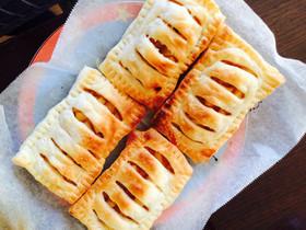 トースターで簡単アップルパイ