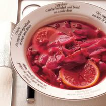 紫キャベツのレモンエスニックスープ