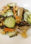 ひじきの煮物リメイク*サラダ