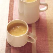 じゃがいもと栗のおやつきんぴらスイートスープ