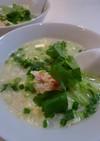 残ったご飯で贅沢蟹雑炊(#^.^#)