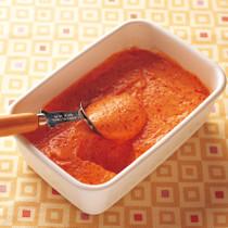 赤ピーマンのアイスクリーム