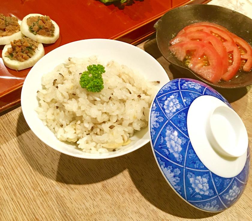 和美食 きのことヤーコンの混ぜごはん