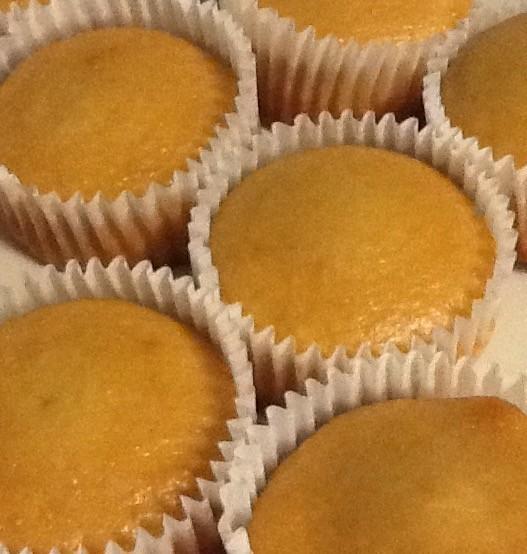 ヴィーガン・醤油&はちみつカップケーキ