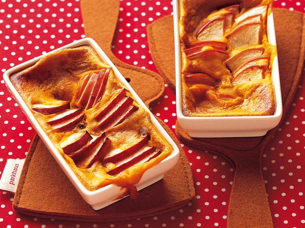 りんごのかぼちゃソース焼き