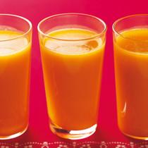 かぼちゃとオレンジの冷たいエスニックスープ