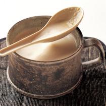 ごぼうの豆乳メープルポタージュ