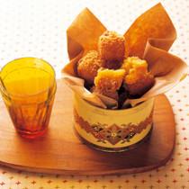 オレンジ風味のスイートポテトコロッケ