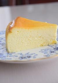 スフレチーズケーキの綺麗な切り方