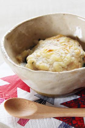【離乳食完了期】魚と長芋のグラタン
