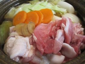 【まぐろ魚醤レシピ】美肌鍋
