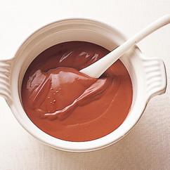 豆腐のチョコレートクリーム