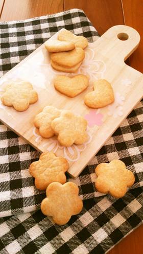 ホケミで簡単☆基本の型抜きクッキー。