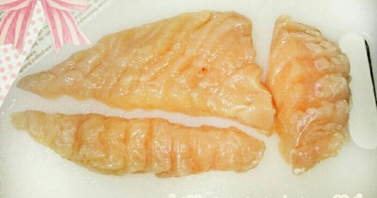 鶏 胸 肉 切り 方 【試してみた】鶏むね肉の切り方を変えたら、明らかに食感が柔らかく...